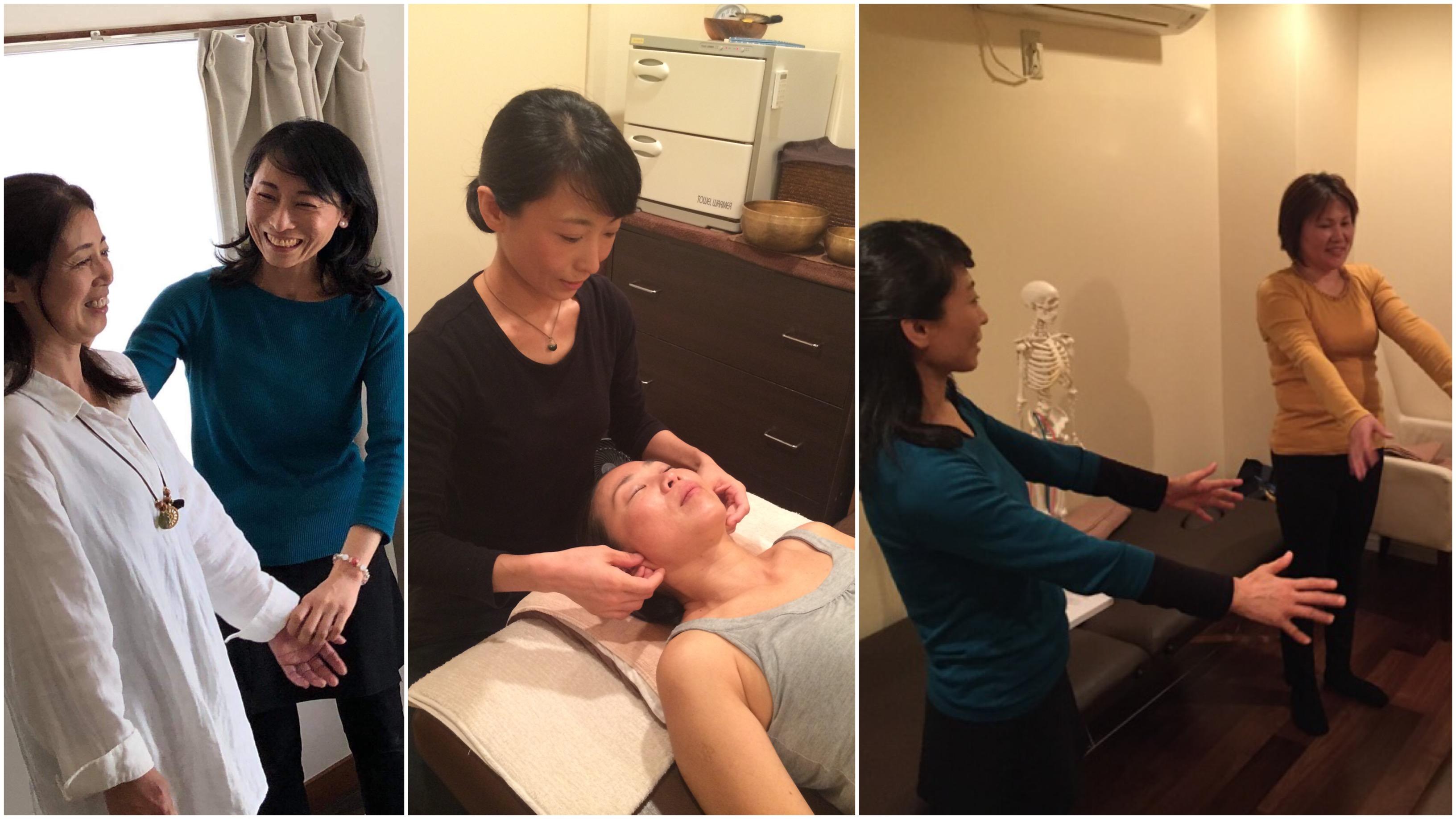 さとう式リンパケア福岡糸島スクール・サロン施術メニュー 姿勢&呼吸パーソナルセッション